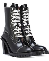 607ea552204 Acne Studios Telde Calf Leather Hiker Boot - Lyst