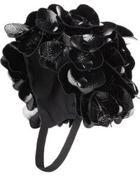 Miu Miu - Floral-embellished Hat - Lyst