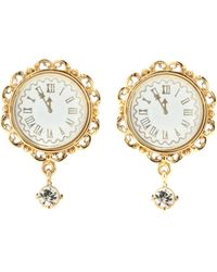 Dolce & Gabbana - Clip-on Earrings - Lyst