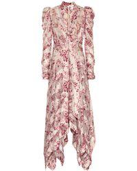 Zimmermann - Unbridled Stretch-silk Dress - Lyst