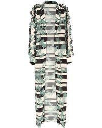 Johanna Ortiz - Printed Silk Coat - Lyst