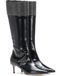 Christopher Kane - Verzierte Stiefel aus Leder - Lyst