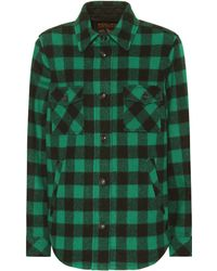 Woolrich - Exclusive To Mytheresa – Checked Wool-blend Jacket - Lyst