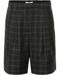 Tibi - Shorts aus einem Wollgemisch - Lyst