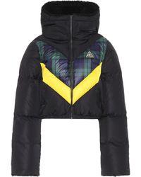 PUMA - Cropped Down Jacket - Lyst