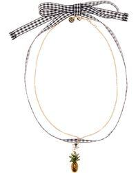 Miu Miu - Embellished Pineapple Choker - Lyst
