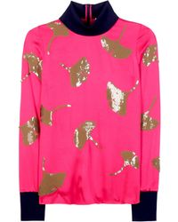 3.1 Phillip Lim - Embellished Satin Sweater - Lyst
