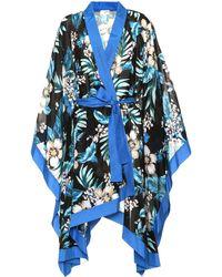 Diane von Furstenberg - Floral Cotton And Silk Kimono Jacket - Lyst
