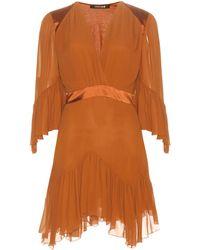 Roberto Cavalli - Silk-chiffon Mini Dress - Lyst