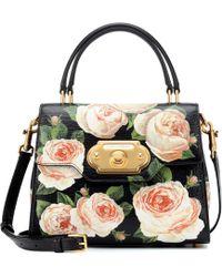 Dolce   Gabbana - Welcome Medium Leather Shoulder Bag - Lyst 9282315cbf885