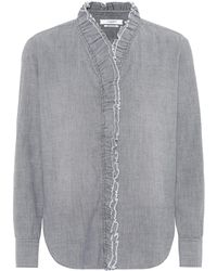 Étoile Isabel Marant - Lawendy Cotton Chambray Shirt - Lyst