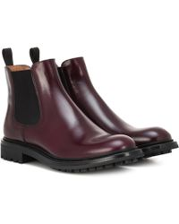 Church's - Genie Leather Ankle Boots - Lyst