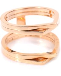 Repossi - Antifer 18kt Rose Gold Ring - Lyst