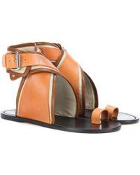 Isabel Marant   Johen Leather Sandals   Lyst