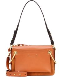 Chloé - Roy Small Leather Shoulder Bag - Lyst