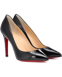 Christian Louboutin - Pigalle 100 Patent Leather Pumps - Lyst