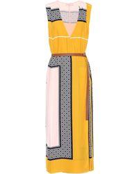 Tory Burch - Clarice Silk Wrap Dress - Lyst