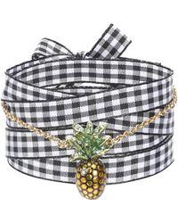 Miu Miu - Embellished Bracelet - Lyst
