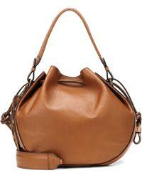 Etro - Leather Bucket Bag - Lyst