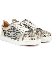039a96d441e Vieira Spikes Embellished Trainers