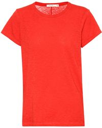 Rag & Bone - The Tee Cotton T-shirt - Lyst