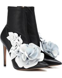 Sophia Webster - Exclusivité Mytheresa – Bottines stretch en cuir Jumbo Lilico - Lyst
