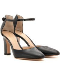 Gianvito Rossi - 54 Mid Patent Leather Court Shoes - Lyst