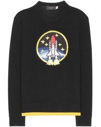 COACH - Rocket Shuttle Embellished Wool Jumper - Lyst