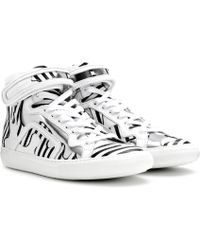 Pierre Hardy - Mytheresa.com Exclusive High-Top-Sneakers aus Leder - Lyst