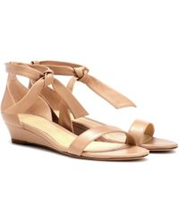Alexandre Birman - Clarita Leather Sandals - Lyst