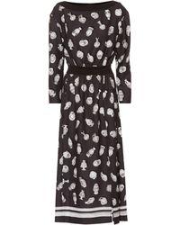 Altuzarra - Paola Vase Print Satin Dress - Lyst