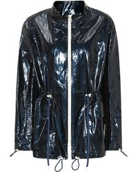 Isabel Marant - Enzo Coated Cotton And Linen Jacket - Lyst