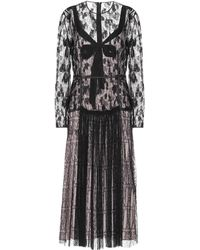 Bottega Veneta - Silk Lace Dress - Lyst