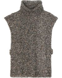 Étoile Isabel Marant | Haway Wool, Cotton And Silk-blend Turtleneck Sweater | Lyst