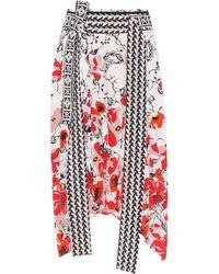Dorothee Schumacher | Printed Silk Skirt | Lyst