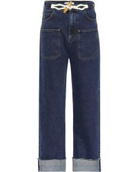 JW Anderson - Exclusive To Mytheresa – Toggle Wide-leg Jeans - Lyst