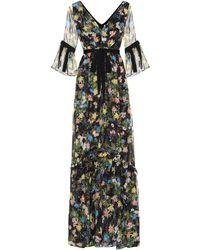 Erdem - Petunia Floral-printed Dress - Lyst