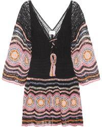 Anna Kosturova - Carly Crocheted Cotton Minidress - Lyst