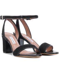 Tabitha Simmons - Leticia Metallic Sandals - Lyst