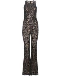 Michael Kors - Lace Jumpsuit - Lyst