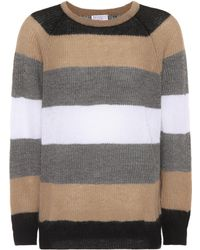 Brunello Cucinelli - Mohair-blend Sweater - Lyst