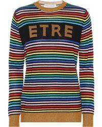 Être Cécile - Etre Merino Wool Striped Sweater - Lyst