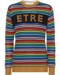 Être Cécile - Etre Merino Wool Striped Jumper - Lyst