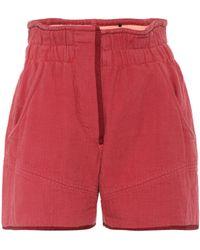 Isabel Marant | Esy Cotton Shorts | Lyst