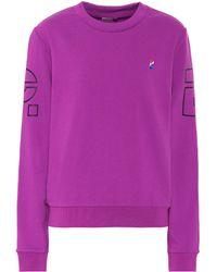 P.E Nation - Sweatshirt Money Ball aus Baumwolle - Lyst