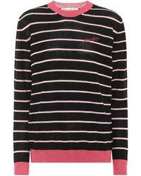 Être Cécile - Frenchie Striped Wool-blend Jumper - Lyst