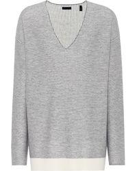 ATM - Wool V-neckline Sweater - Lyst