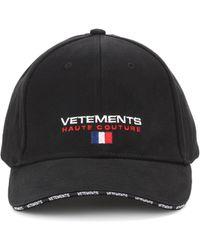 Vetements - Cotton Baseball Hat - Lyst
