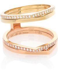 Repossi - Exclusivo en mytheresa - anillo de oro de 18 ct con diamantes Antifer - Lyst