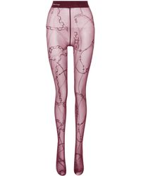 Balenciaga - Collants imprimés - Lyst